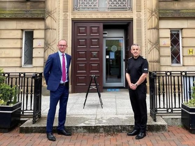 New Police and Crime Commissioner Andrew Snowden has been telling Chief Constable Chris Rowley what his priorities are.