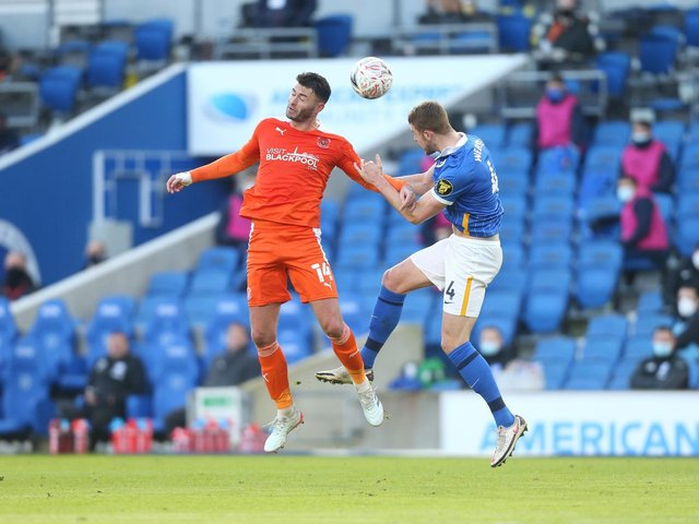 Gary Madine returned from a lengthy absence last weekend