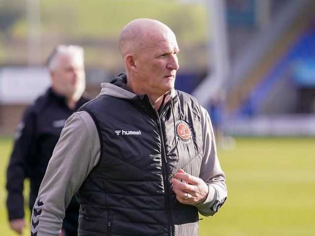 Fleetwood Town head coach Simon Grayson Picture: David Horn/PRiME Media Images Limited