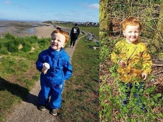 George Arthur Hinds, aged two years and 10 months, died following a suspected gas explosion in Heysham. Pic: Lancashire Police
