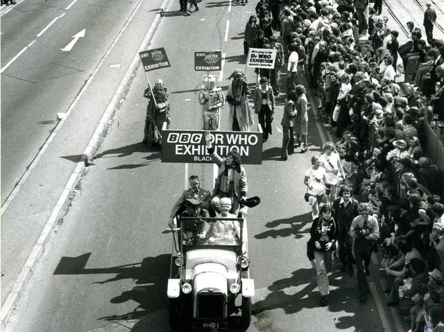Blackpool centenary parade, 1976