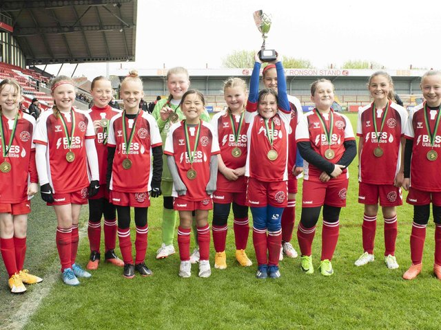 Fleetwood Tigers won the Under-10 Coulton Cup final against Myerscough Reds