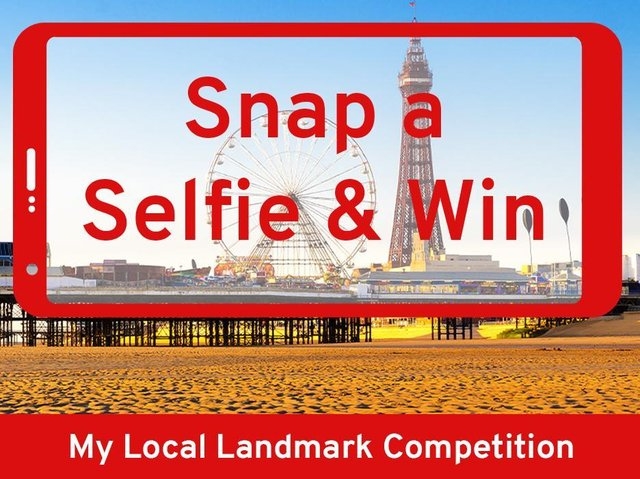 Snap a selfie of your favourite Blackpool landmark