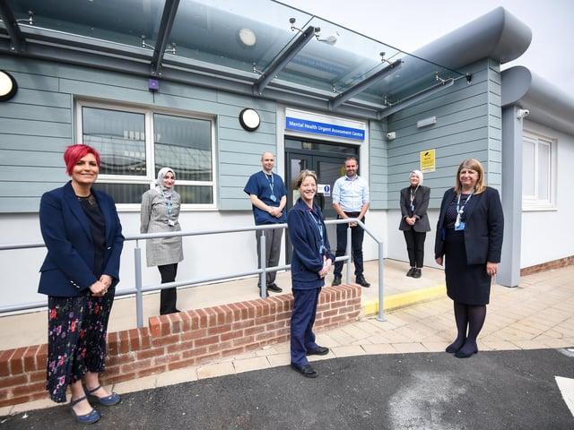 The Mental Health Liaison Team at the Vic's new Mental Health Urgent Assessment Centre. Picture: Daniel Martino/JPI Media