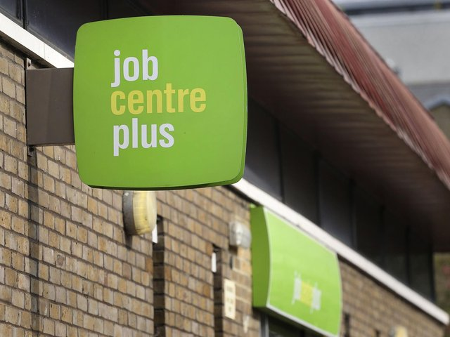 Unemployment has edged downwards in April but more people are claiming work-related benefits