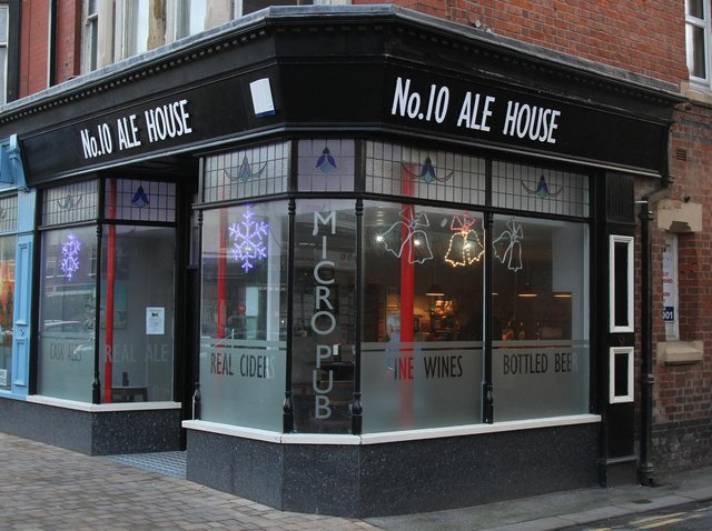 The No 10 Ale House in St Annes is looking to expand next door