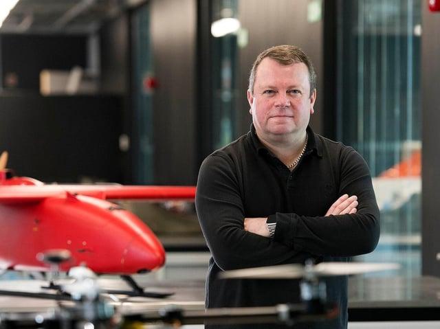 Darren Ansell is UCLan's professor of aerospace.