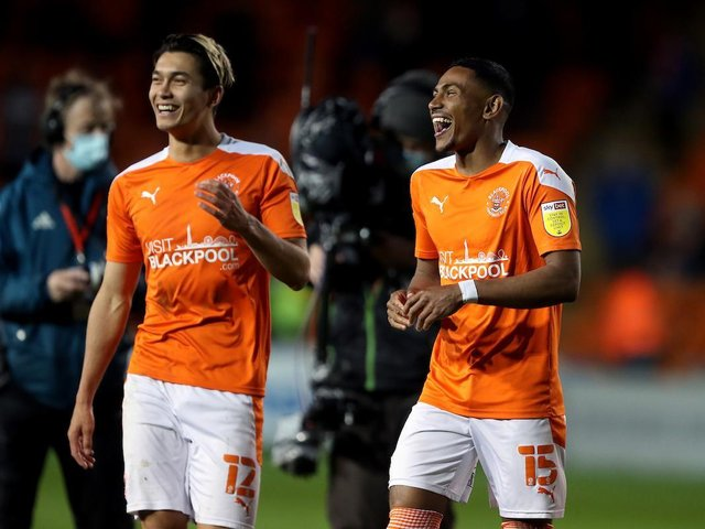Both Kenny Dougall and Demetri Mitchell were in magnificent form for the Seasiders last night