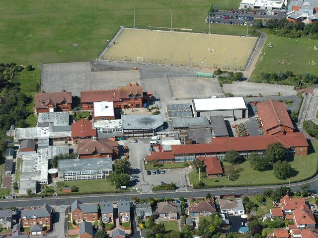 Pupils have been sent home for Lytham St Annes High School