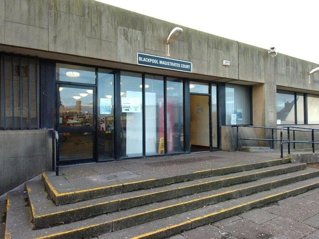 Blackpool Magistrates Court.