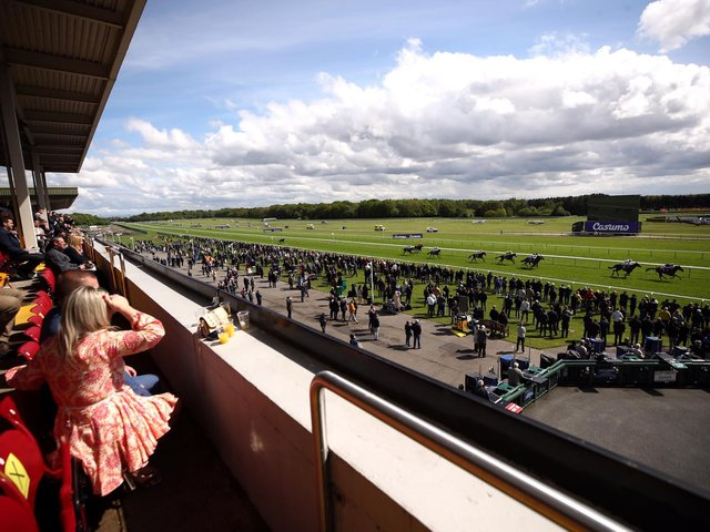Haydock Park racecourse stages a seven-race afternoon card on Thursday, which forms part of three days of consecutive action at the track.
