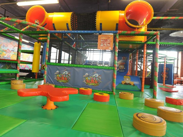 No matter the weather, soft play centres are always a hit with the children