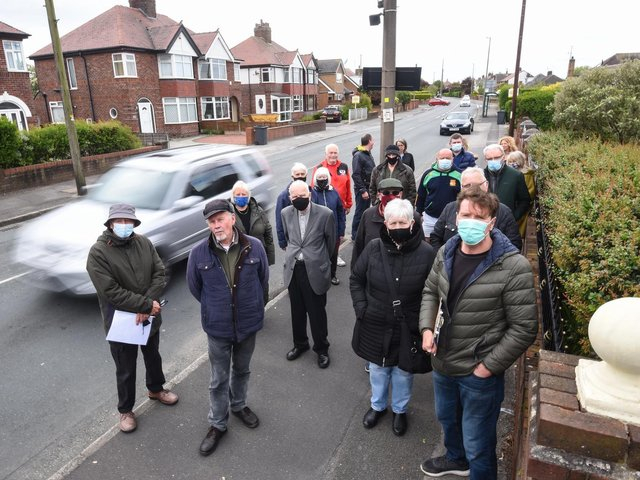 Residents of West Drive in Cleveleys are concerned about speeding and heavy traffic on the roads.