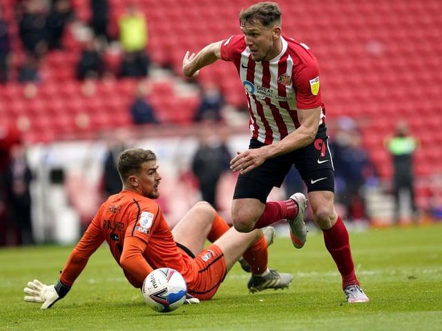 Charlie Wyke in action for Sunderland.