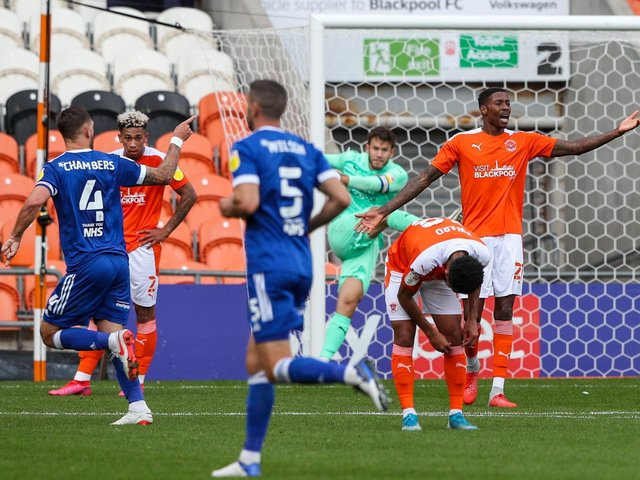 Blackpool's early season defeat to Ipswich Town was highlighted by Neil Critchley