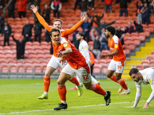 Kenny Dougall has become an integral part of the Blackpool side