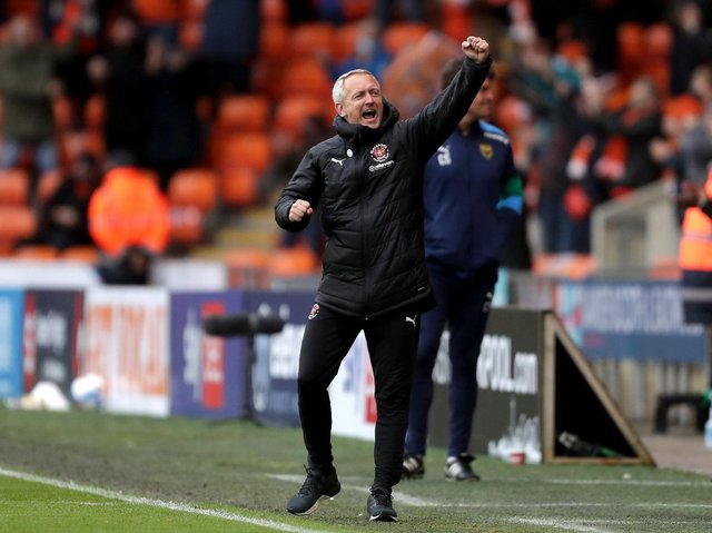 Neil Critchley hopes to have one more reason to celebrate tomorrow
