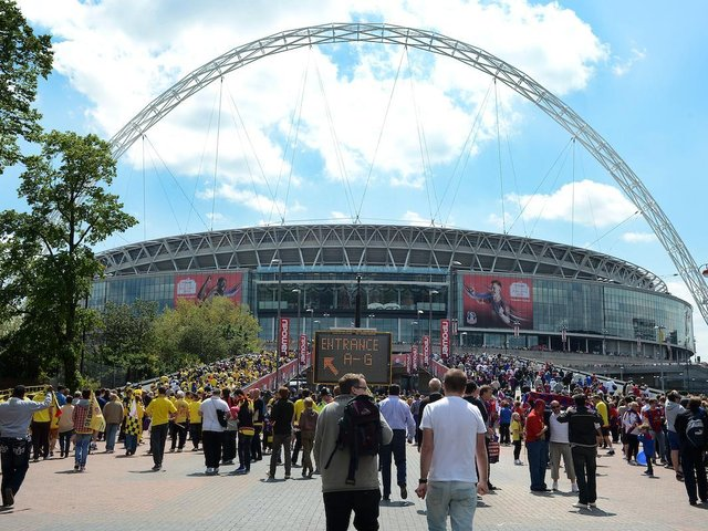 Blackpool take on Lincoln City at Wembley tomorrow for a place in the Championship