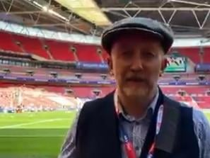 Ian Holloway was at Wembley on Sunday as a pundit for EFL on Quest