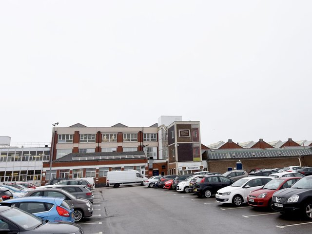 The Blackpool Burtons factory in Mansfield Road