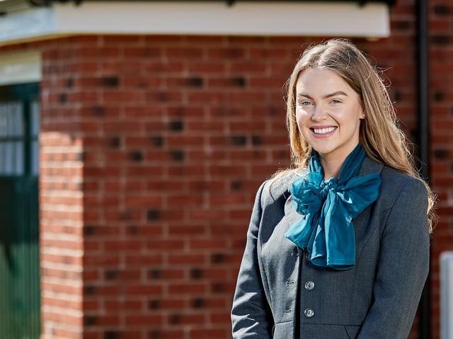 Hayley Hughes of Fleetwood