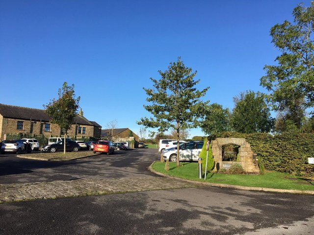 The Mountwood site  in Ribchester   (photo: 2019)