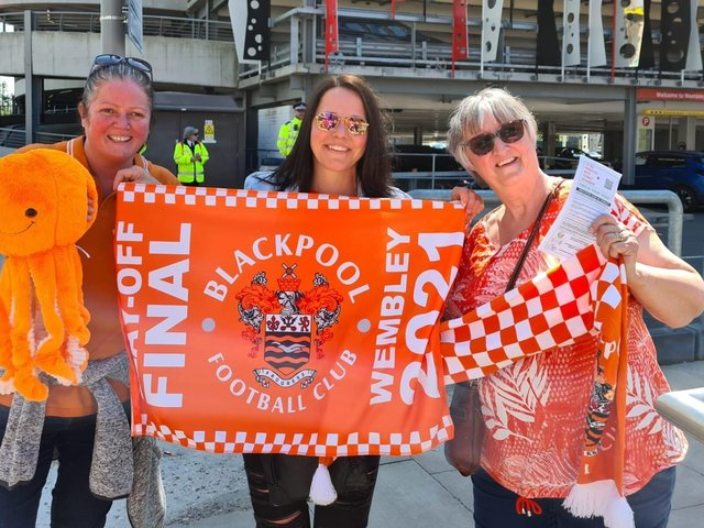 BFCCT volunteers and participants were at Wembley