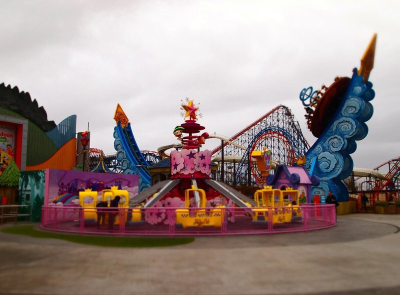 Nickelodeon Land at Blackpool Pleasure Beach is loaded with 12 fantastic rides.