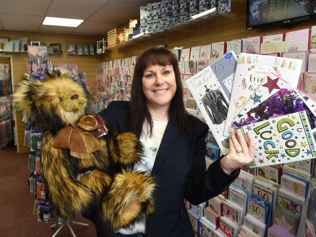 Sarah Mangan has opened her second shop, Celebrations Cards and Gifts in Lytham's Clifton Street,