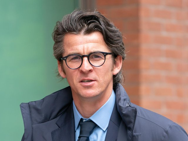Joey Barton arriving at Sheffield Crown Court. (Credit: PA Wire/ Danny Lawson)