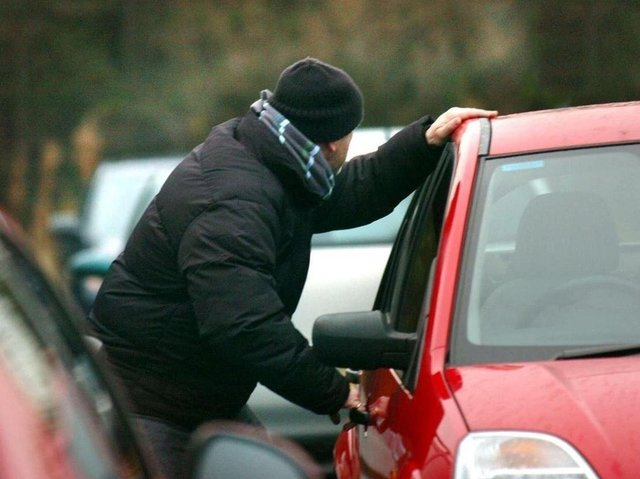 Car crime has risen according to police in Blackpool