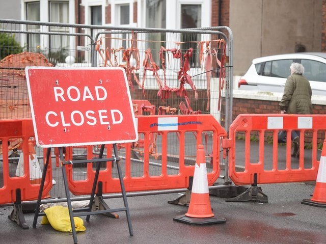 The closures will start tomorrow in Blackpool