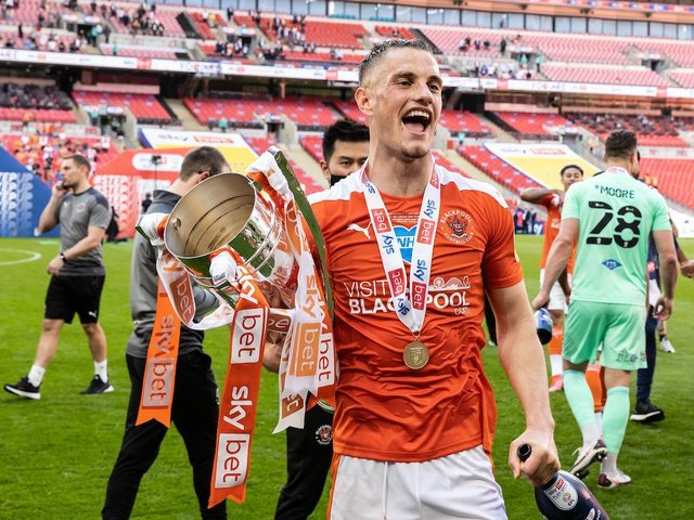 Jerry Yates scored 23 goals to help fire Blackpool to the Championship