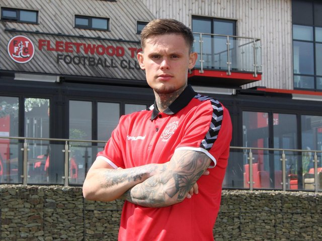 New Fleetwood Town signing Harry Wright Picture: Fleetwood Town
