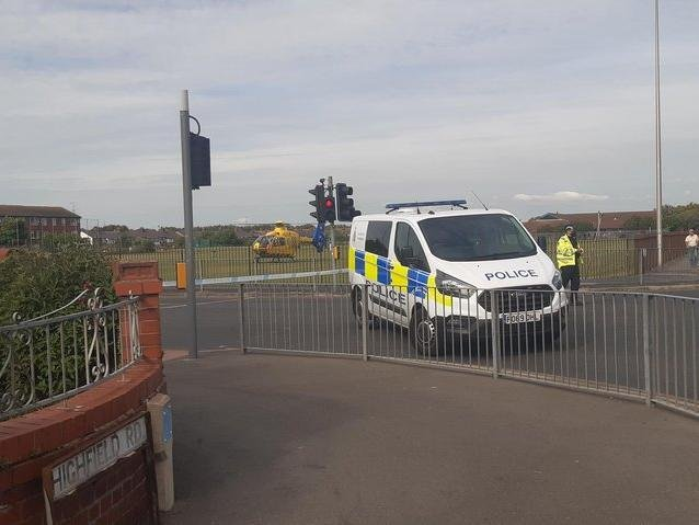 Leo Sadler, 19, was taken to Royal Preston Hospital by air ambulance after sustaining serious injuries in the crash in St Anne's Road at around 4.50pm on Monday (June 7)