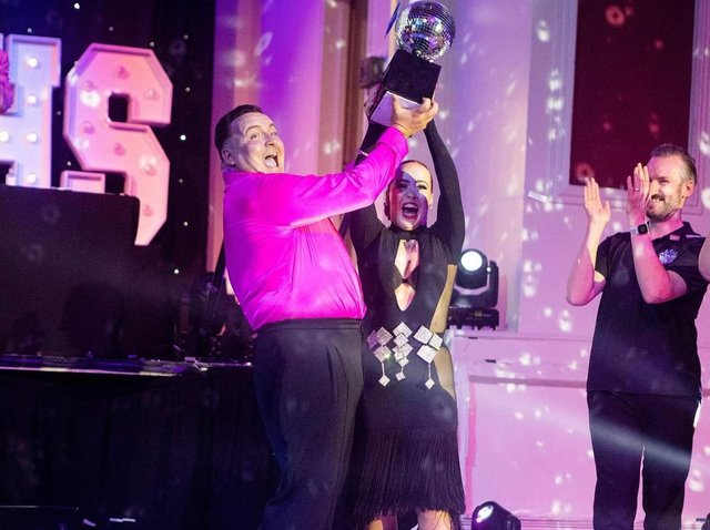 Strictly NHS winner Adam Wilson and partner Amy