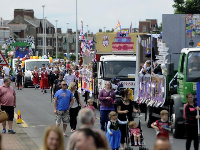 Fleetwood Carnival in a previous year