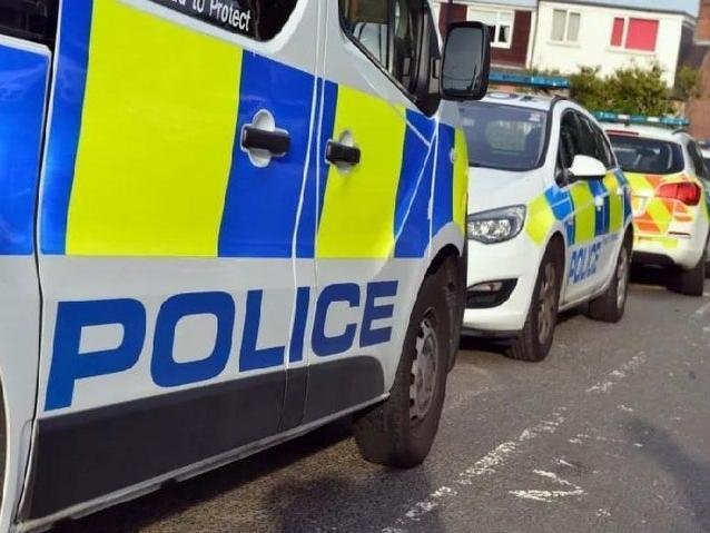 The crash happened near the health centre in Whitegate Drive, Blackpool at around 10am