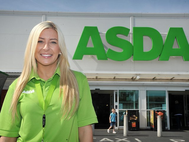 """Layla Challoner, community champion at Asda in Fleetwood said: """"We are so excited Green Token Giving is back online and really proud to be able to continually support the local charity groups in our area."""""""