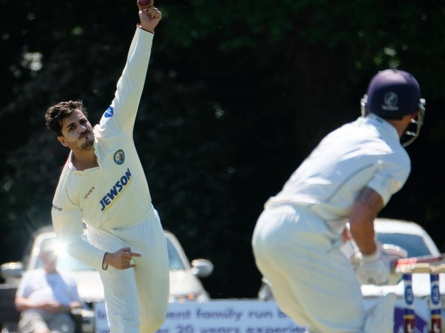 Zia-ur-Rehman Akbar took four wickets on his debut for Lytham last weekend