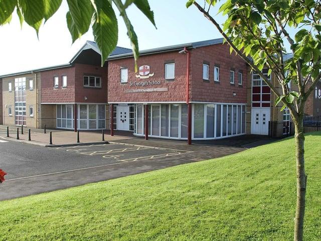 St George's School in Cherry Tree Road, Marton.