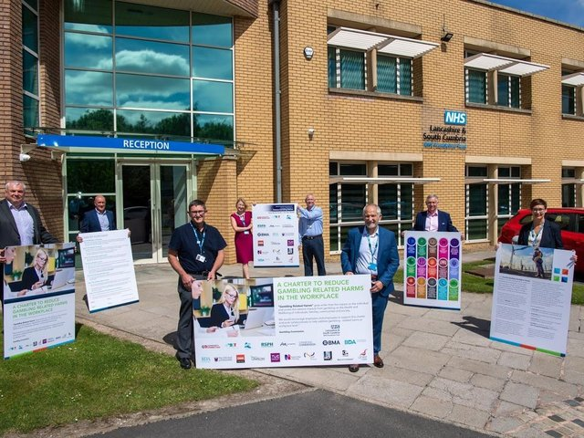 Working with Unite the Union, Lancashire and South Cumbria NHS Foundation Trust is the first NHS organisation to sign a new Workplace Charter to help families who may be experiencing someone with problem gambling