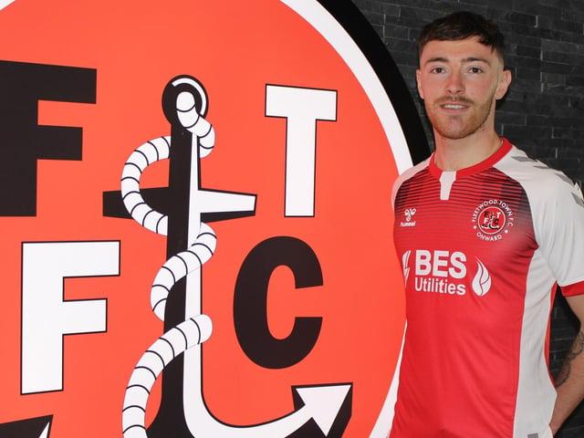 Ryan Edmondson has joined Fleetwood Town on loan Picture: Fleetwood Town