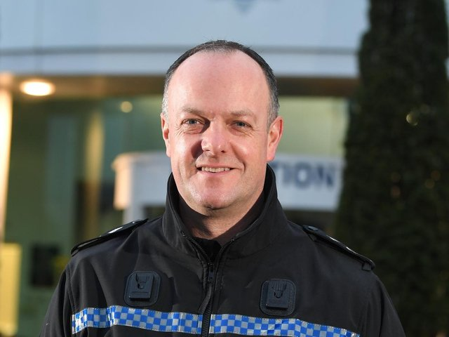 Deputy chief constable Terry Woods