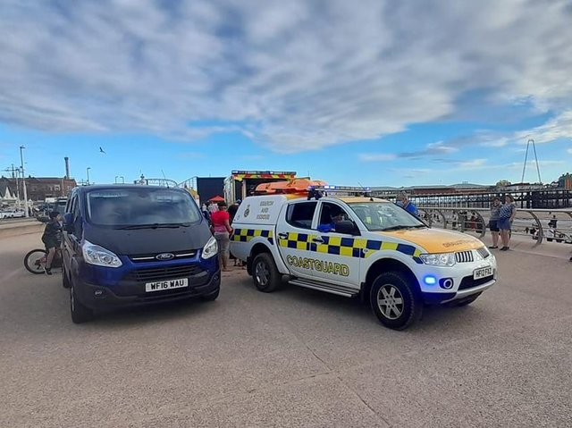 Picture by Lytham coastguard