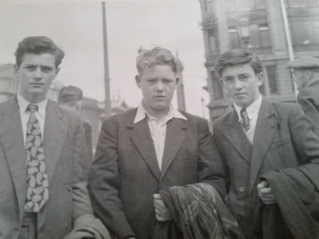 From left to right are: Colin Oldfield, Tom Walls and Brian Hadgraft.