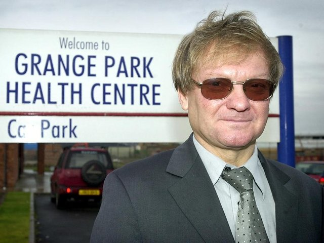 Dr Goksel Celikkol, pictured in 2003, who worked across the Fylde coast, including at the Grange Park Health Centre, faces being struck off if the accusations are found to have been proved by the Medical Practitioners Tribunal Service.