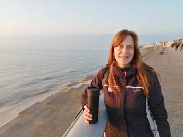 Artist Gill Wood is working on a project based in Fleetwood