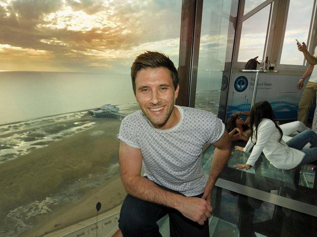 DJ Danny Howard delighted to kick off ultimate Blackpool comeback party
