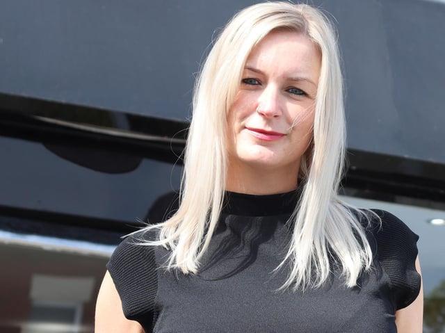 Jane Devlin of Blackpool who has joined John Kersey's hair studio in Grimsargh